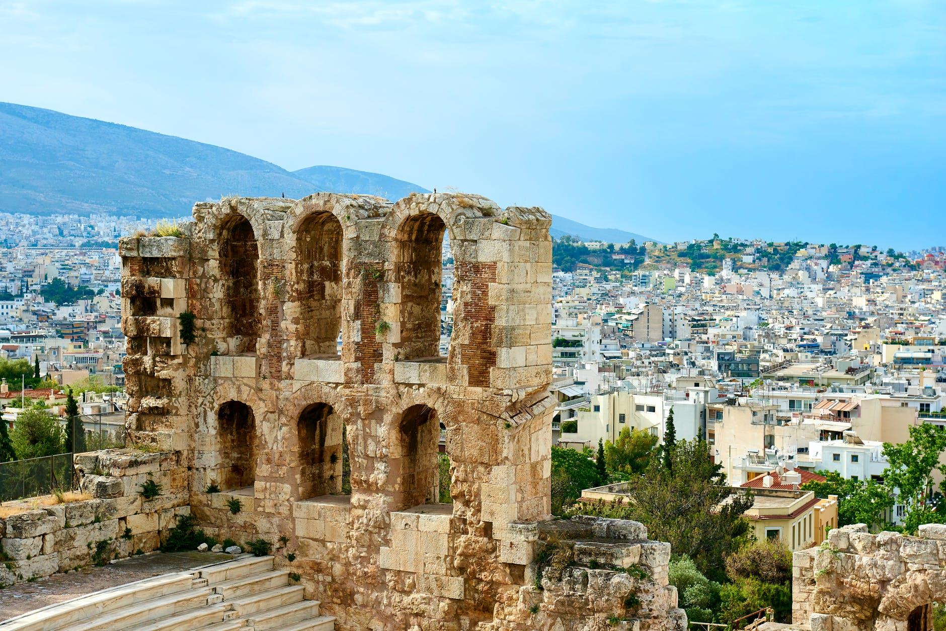 Como ir para Atenas